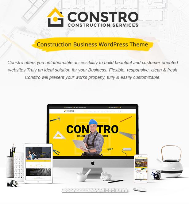 Constro - Construction Business WordPress Theme - 2