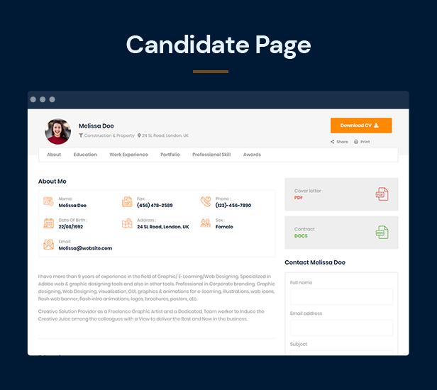 Jobber - Job Board HTML5 Template - 6