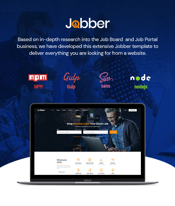 Jobber - Job Board HTML5 Template - 1
