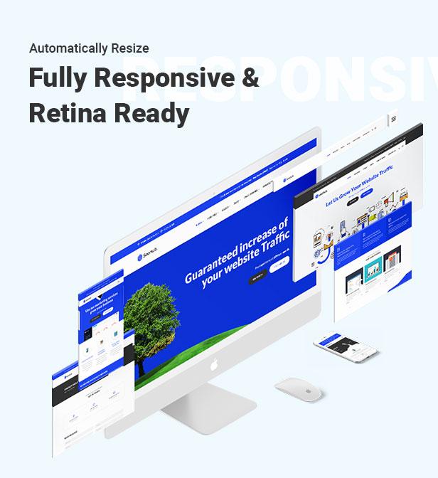 SEOhub - SEO, Marketing, Social Media, Multipurpose HTML5 Template - 7
