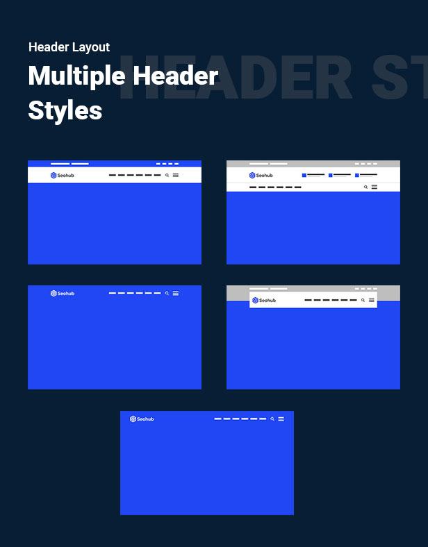 SEOhub - SEO, Marketing, Social Media, Multipurpose HTML5 Template - 8