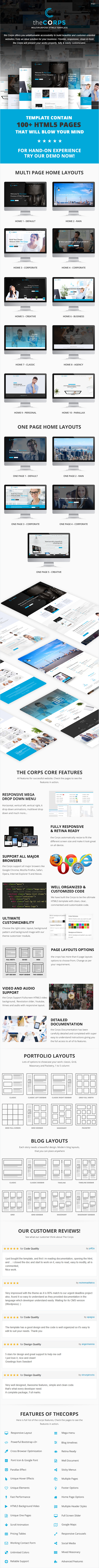 The Corps - Multi-Purpose HTML5 Template - 3