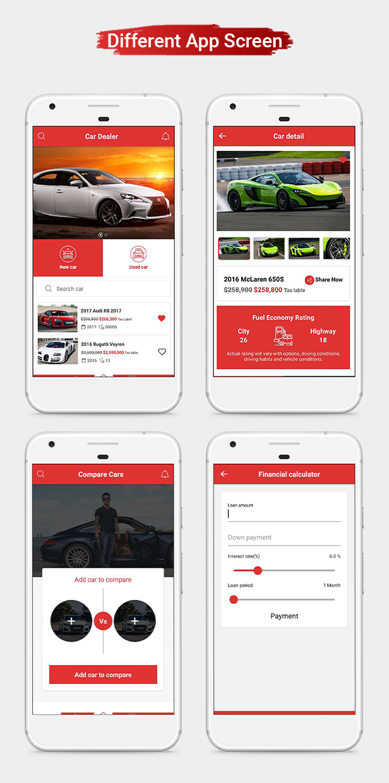 Car Dealer Native Android Application - Java - 7