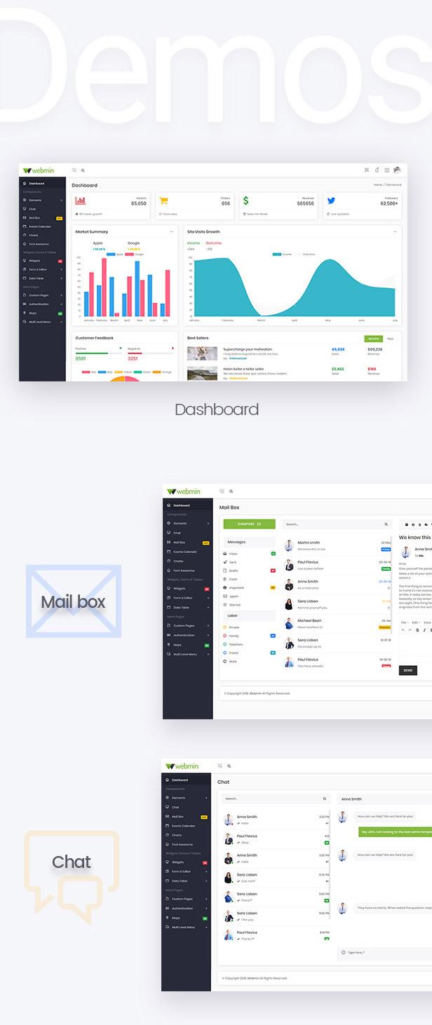 Webmin - React JS Admin Dashboard Template - 3