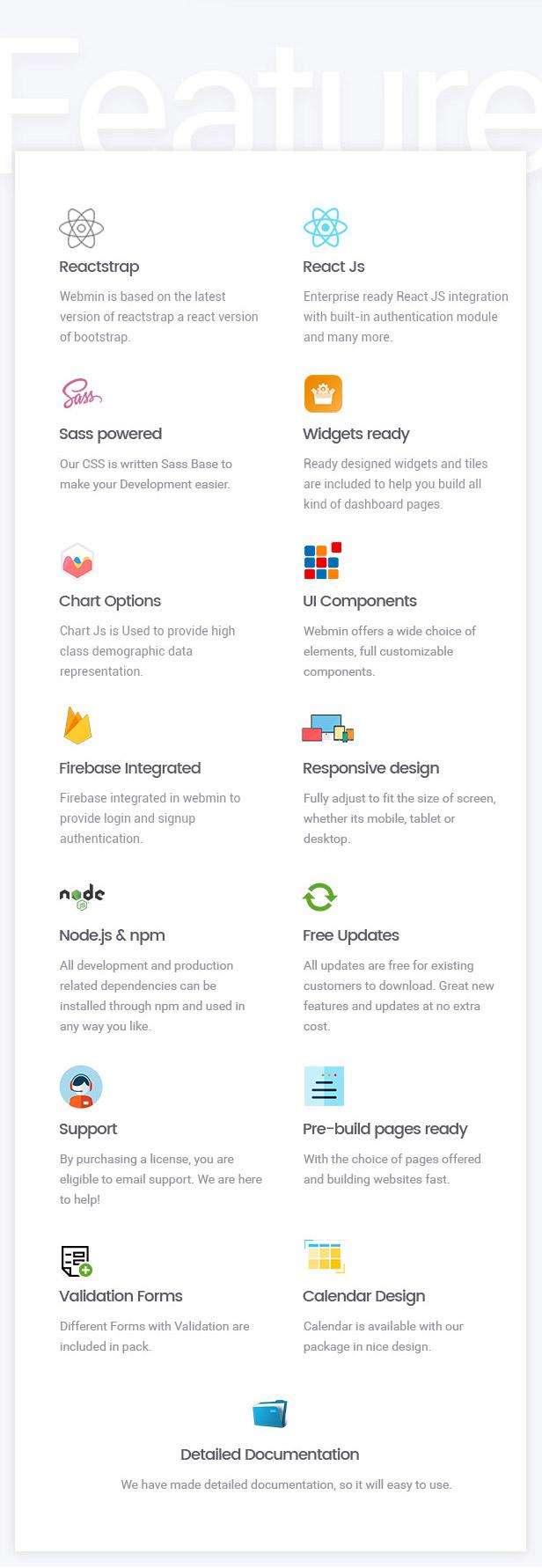 Webmin - React JS Admin Dashboard Template - 4