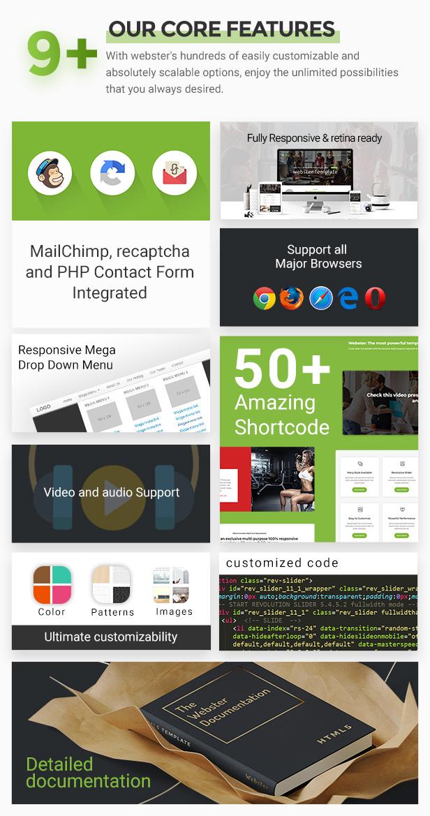Webster - Responsive Multi-purpose HTML5 Template - 19